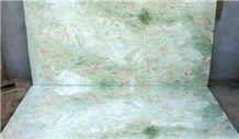 Salumber Onyx Polished Tiles, Lady Green Onyx Tiles & Slabs India