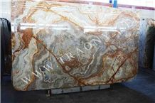 Autumn Onyx with Brown Veins Slabs
