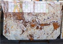 Lava Flow Onyx, Multicolor Onyx Tiles & Slabs Iran