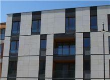 Piaskowiec Zeliszow Sandstone Facade External Wall Cladding Tiles