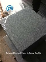 G654 Granite Tiles & Slabs, China Black Granite Tiles, Flamed Black Granite Tile