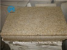 G682 Granite Slabs & Tiles, Yellow Granite, China Yellow Granite