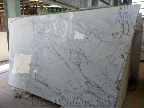 Indian Satwario Marble Slabs Indian Statuario Marble