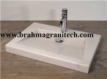 White Marble Sinks & Basins