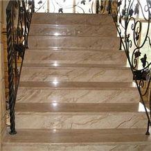 Breccia Oniciata Marble Staircase