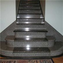 Stairs Made Of Granite Labrador Blue Pearl