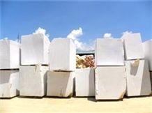 White Marble Blocks, Pure White Marble