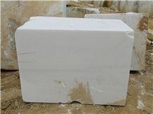 Yen Bai Pure White Marble Block Viet Nam