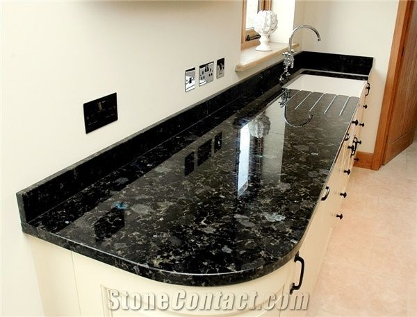 Black Labrador Granite Countertop From United Kingdom