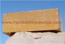 Elegance Indus Gold Marble Monolama Blocks