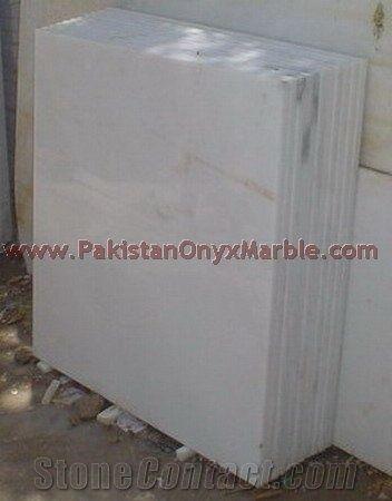Export Quality Ziarat White Carrara Marble Tiles White