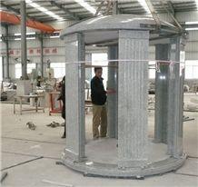 Grey Granite G603 Columbarium, Round Stone Columbarium, Cemetery Urns/Crypts