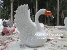 Granite Animal Sculptures,Statue,Swan Sculptures