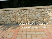 Yellow Sandstone Cultured Stone Walling