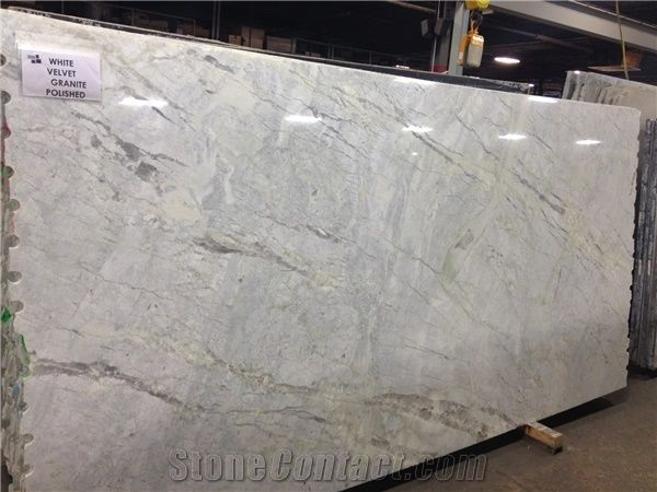 White Princess Quartzite Slabs Tiles Brazil White