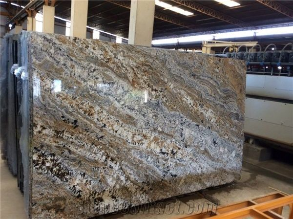 Golden Persa Granite Slabs