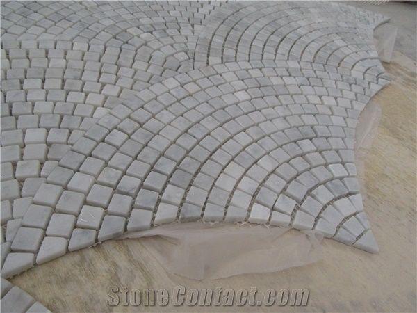 Carrara White Marble Mosaic Tiles Italy White Marble