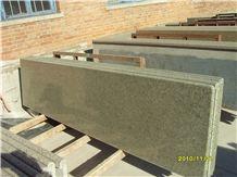 Desert Oasis Granite Cut to Size Countertop for Kitchen, Bar with Full Bullnose, Bevel Edge, China Cheap Green Granite Countertops