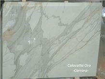 Calacatta Oro Carrara Marble Slabs