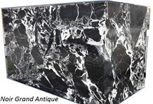 Noir Grand Antique Marble Slabs & Tiles, Black Marble Slabs France