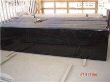 Galaxy Black Granite Countertop, Black Granite Kitchen Countertops