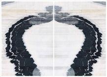 Marble Black,Ekvator Marmara Mermeri Marble Tile & Slab, Panda Marmara Black Slate