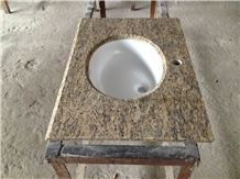 Topazic Imperial Granite Countertop, Brown Granite Kitchen Countertops