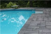 Church Hill Soapstone Pool Coping and Pattern Paver Kits