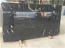 China Via Lactea Granite Tiles & Slabs, Porto Branco, Nero Branco, Mist Black Via Lactea, China Jet Mist Granite, River Black Via Lactea, River Black Granite