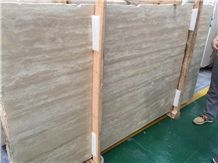 Beige Travertine Tiles&Slabs,Cut to Size