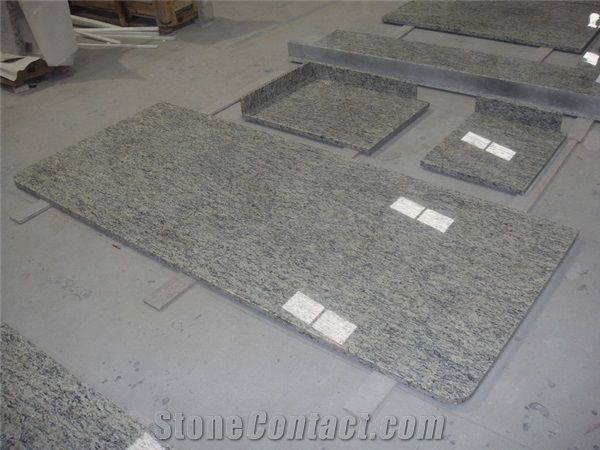 Cape White Granite Bathroom Countertops From China Stonecontact