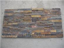 China Hebei Rust Slate Culture Stone Tiles