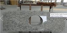 Giallo Santa Cecilia Granite Light Vanity Tops