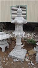 Slla-009,Carved Granite Lantern,Garden Lantern