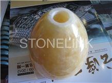 Slla-013 ,Natural Onyx Stone Desk Lamp