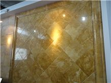 Slma-092,Empire Golden,Slab,Tile,Flooring,Wall Cladding,Skirting, Empire Golden Marble