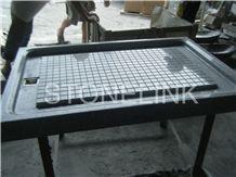 Slsh-005, Black Granite Shower Tray