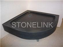 Slsh-012, Black Basalt Shower Tray