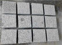 G623 Granite Cube Stone & Paver, Paving Stone