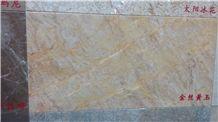 Golden Silk Jade Marble Slabs & Tiles,Wall & Floor Covering, Skirting, Golden Vein Jade Marble, Desert Yellow, Beige Dark,Golden Grain Topaz,China Yellow Jade Marble