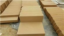 China Yellow Sandstone Tiles &Slabs for Building Wall Cladding