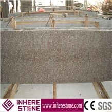 Cheapest Granite G687 Pink Granite Slabs & Tiles, China Red Granite, Peach Blossom Red G3567 Granite