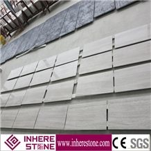 Hot Natural China Wooden White Marble Tiles & Slabs, Perlino Bianco, Serpeggiante White Wood Grain Tiles, Cut-To-Size, Top Polished Chenille White Marble from China