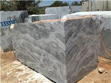 Turkey Silver Fantasy Block Marble, Grey Marble Blocks