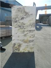 Turkey White Leopard Marble Tiles & Slabs, White Polished Tiles, Flooring and Walling Tiles