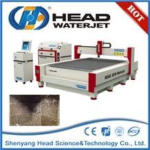 Cnc Stone Cutting Use Water Jet Marble Wall Cutting Machine
