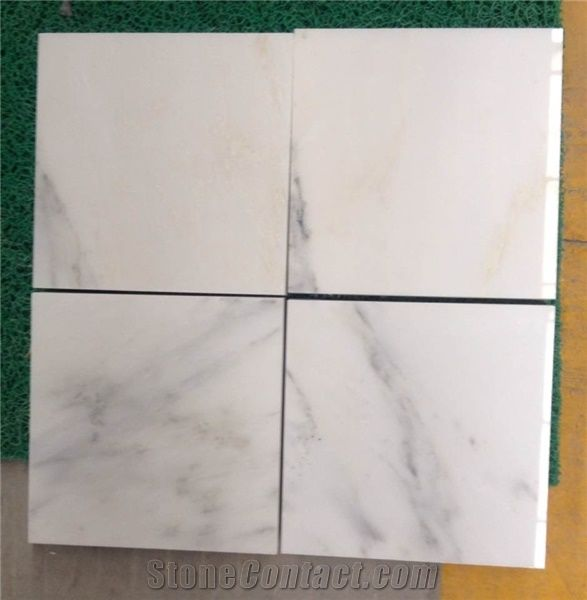 Eastern White Marble Slabs Tiles