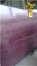 Purple Wood Grain Slabs & Tiles, Turkey Lilac Marble