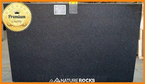 Black Pearl Granite Honed Tiles Slab Floor