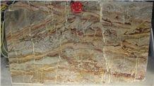 Sarrancolin Opera Fantastico Marble Tiles & Slabs, Red Marble Polished, Floor Covering Tiles France